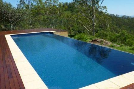 Above Ground Fibreglass Pools
