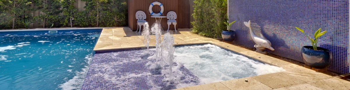 Beautiful Pool and Spa Combos from Compass Pools