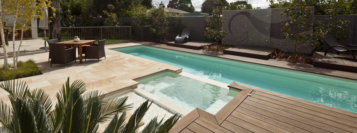 Effective pool landscaping and home value