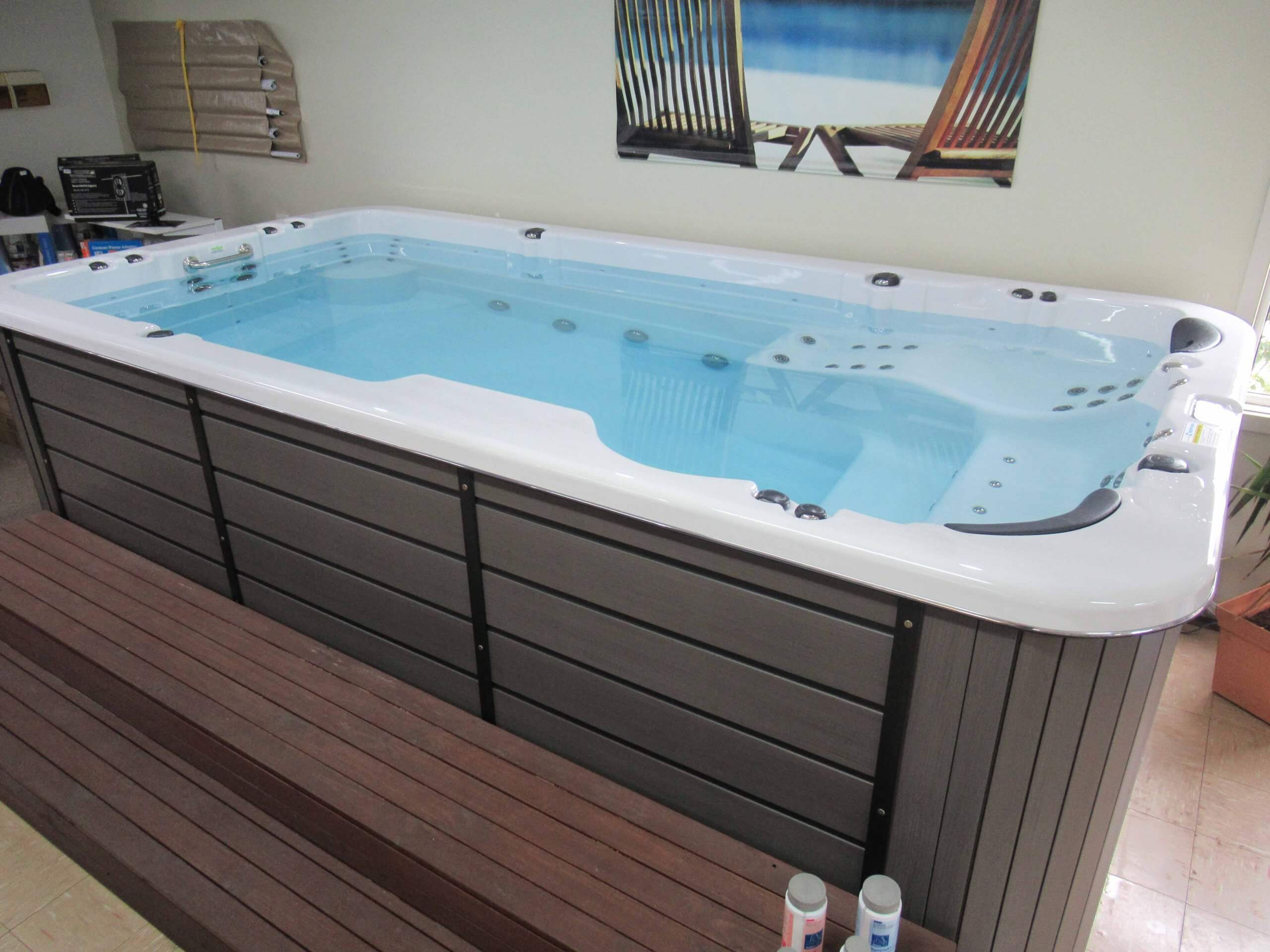 Donehues Leisure New Mt Gambier Sapphire Spa Swimspa My personal Extreme trainer 347 12