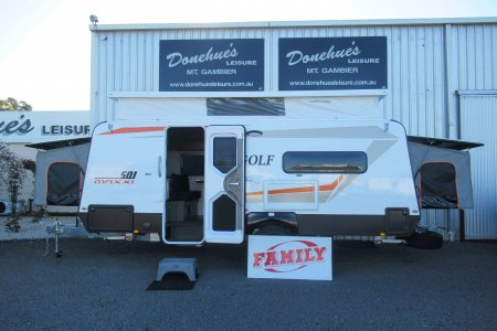 Donehues Leisure New Golf Maxxi 501 3 Family Bunk Poptop Caravan Mt Gambier 12358 19