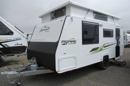 Donehues Leisure New Avan Aspire 4894 Poptop Caravan Mt Gambier 12400 2