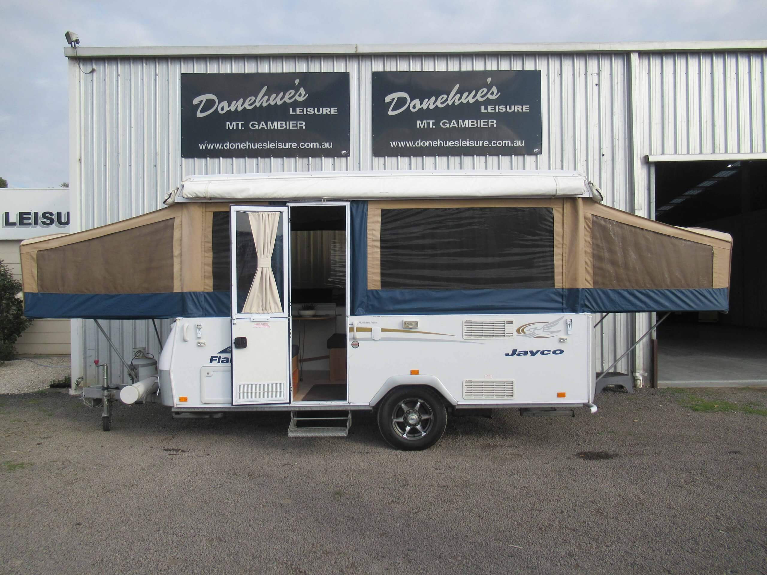 Donehues Leisure Used Jayco Flamingo Camper Mt Gambier 21881M