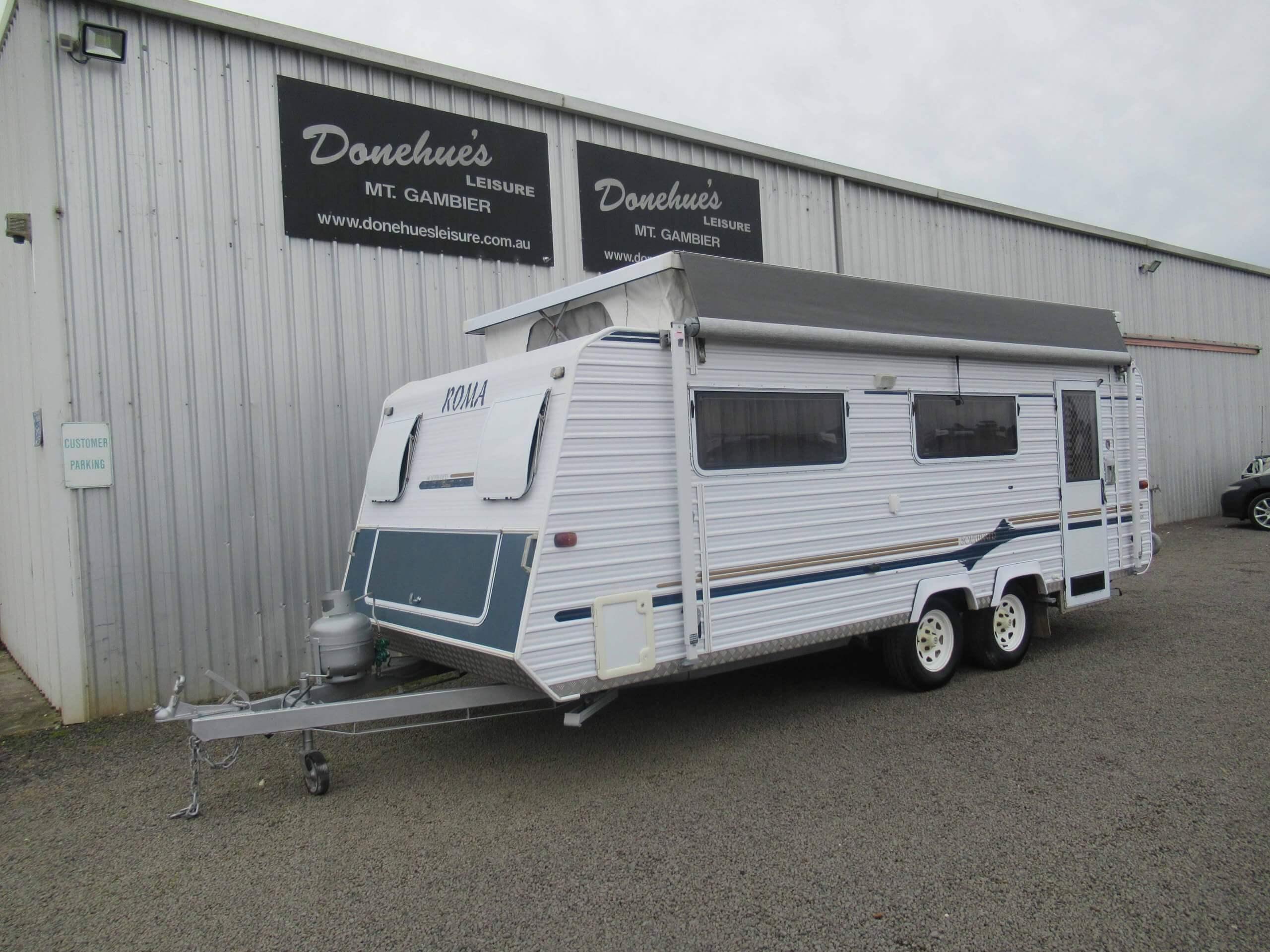 Donehues Leisure Used Roma Poptop Caravan Mt Gambier 21907M 2