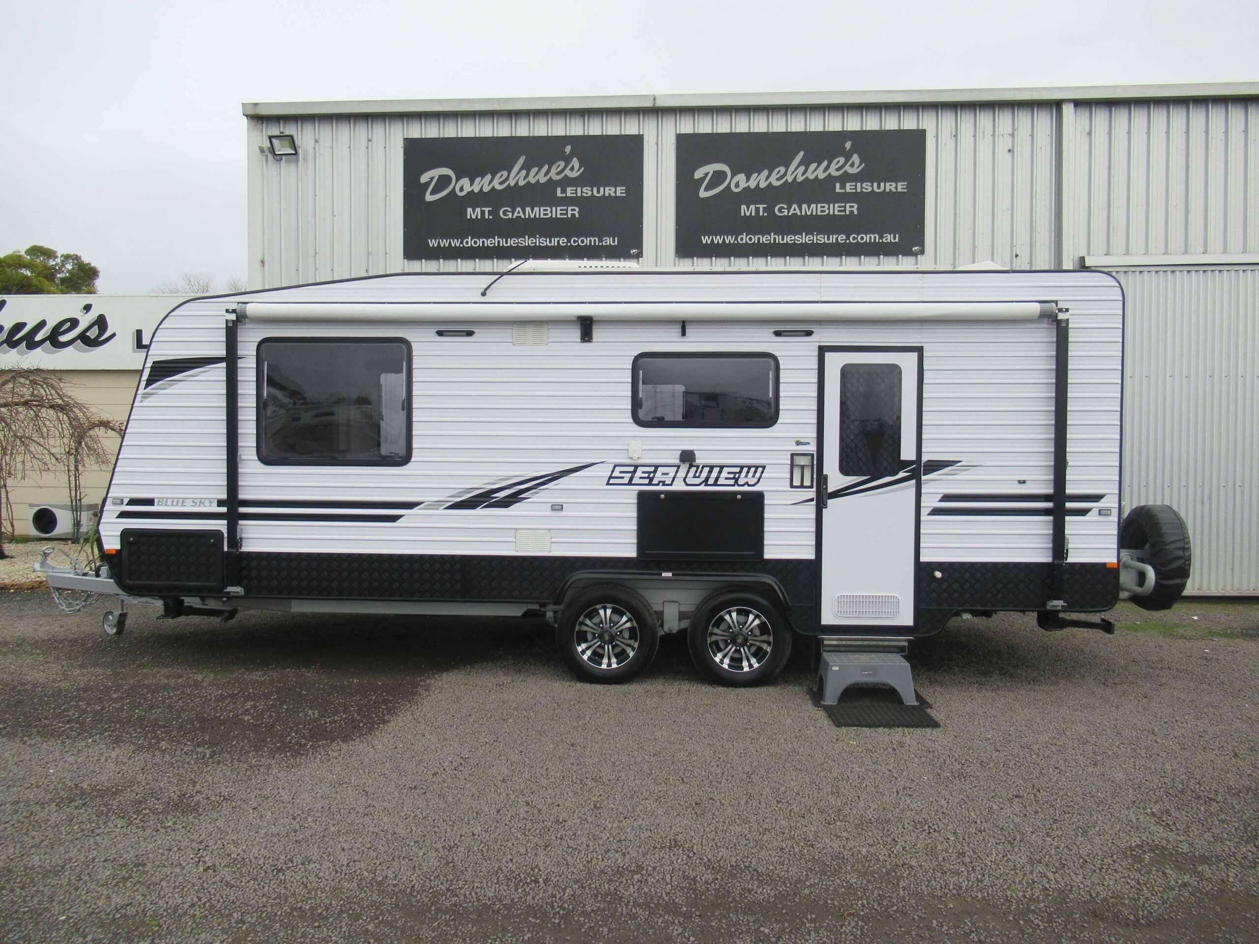 Donehues Leisure Used Blue Sky Caravan Shower Toilet 2016 Mt Gambier 21923M 2