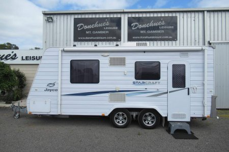 Donehues Leisure Used Jayco Starcraft single beds caravan Mt Gambier 21940M 11