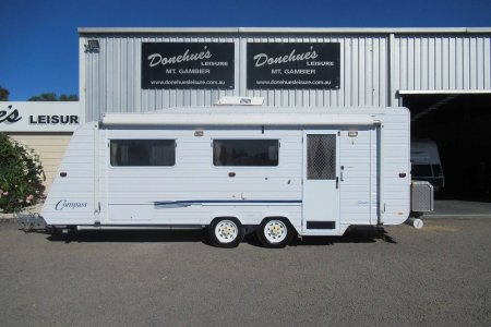 Donehues Leisure Used Compass caravan Single beds Shower Mt Gambier 21920M