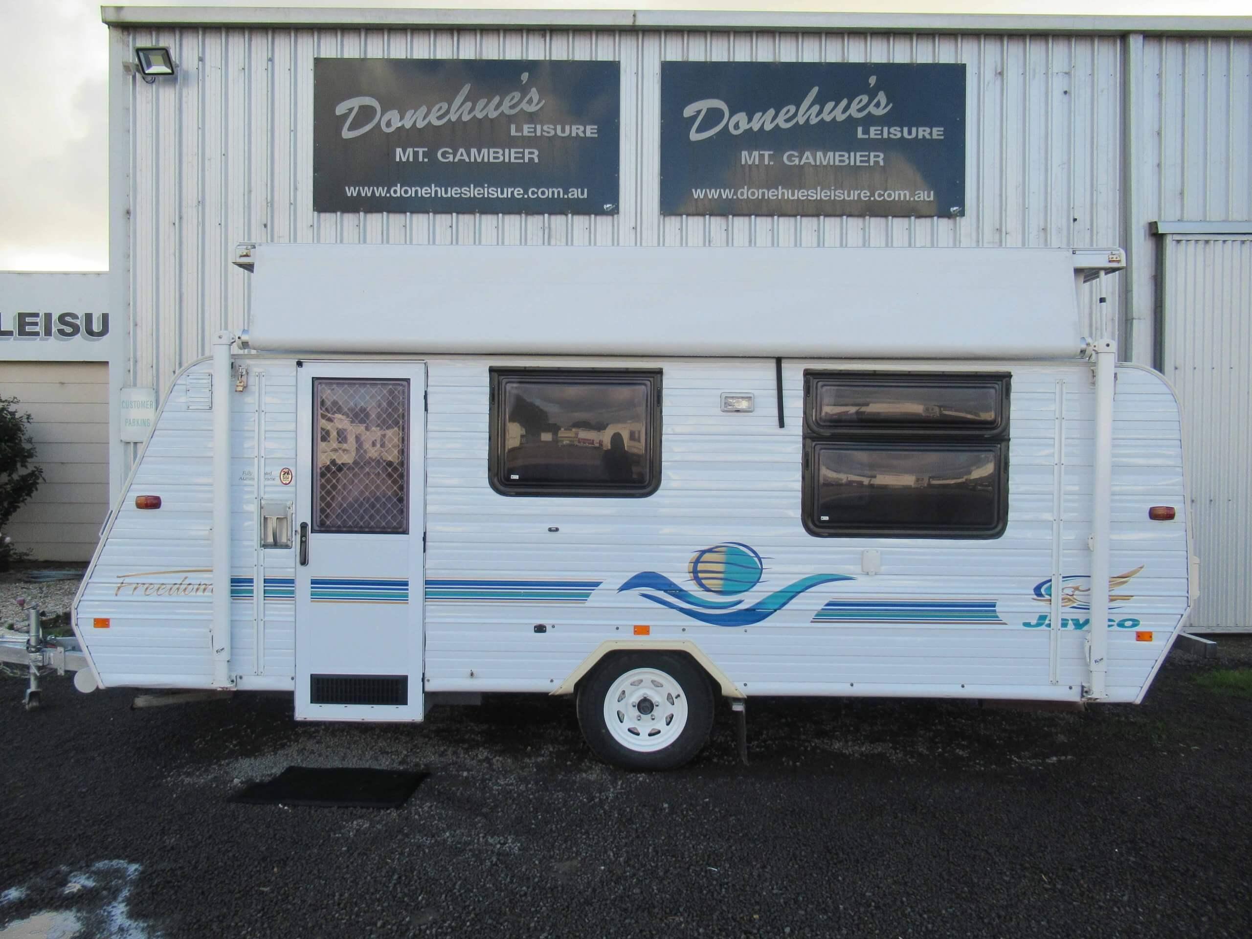 Donehues Leisure Used Jayco Freedom Poptop Caravan Mt Gambier 21961M 12