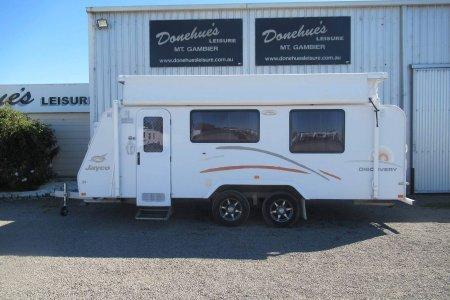 Doneuhes Leisure Used Jayco Discovery Pop top Caravan Mt Gambier 21963M